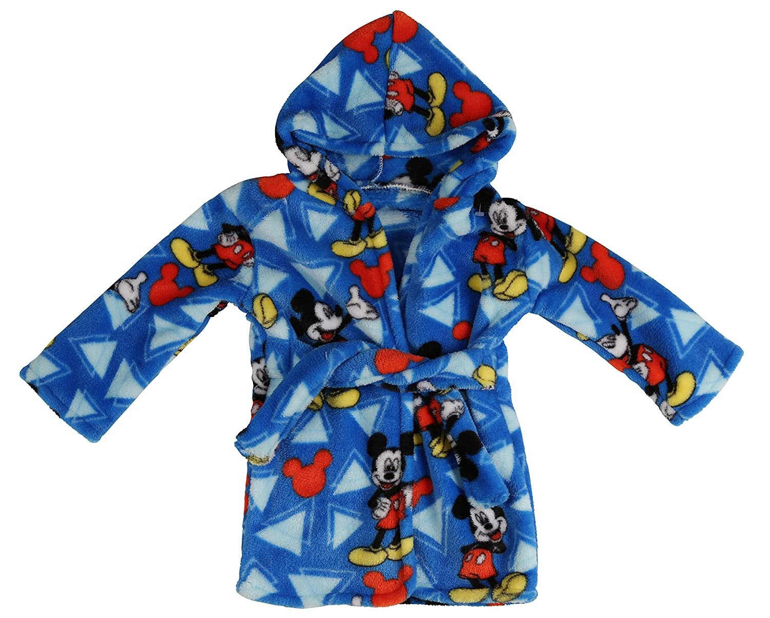 Disney Mickey Mouse Flannel Fleece Robe, Blue Cudlie Accessories GS70837