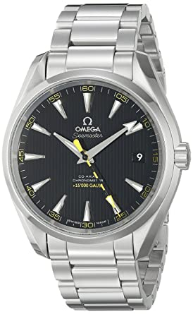 25220f9da3f Omega Men s 23110422101002 Seamaster150 Analog Display Swiss Automatic  Silver Watch