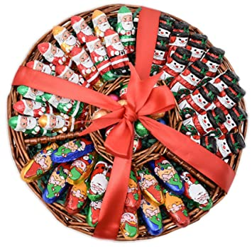 Christmas Gift Basket 1 5 Lbs Madelaine Chocolate Variety Premium Gift Tray For Family
