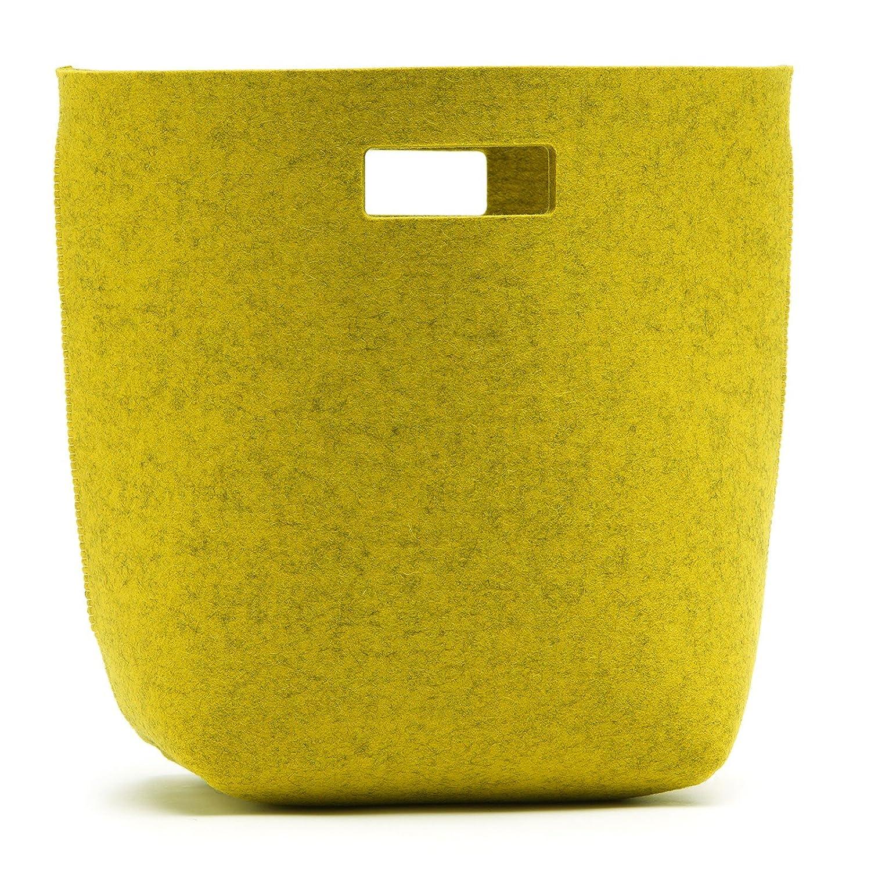 Papierkorb Mülleimer aus aus aus Filz in vielen Farben & Größen Hey Sign, Größe S;Hey Sign_Farbe 16 - Hellgrau B00JH5U3VA Fensterdekoration d5fbbe