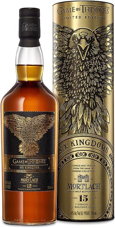 Mortlach 15 Jahre, Single Malt Whisky, 1x0,7l, The Six Kingdoms - Game Of Thrones Limitierte Edition: Amazon.de: Bier, Wein & Spirituosen