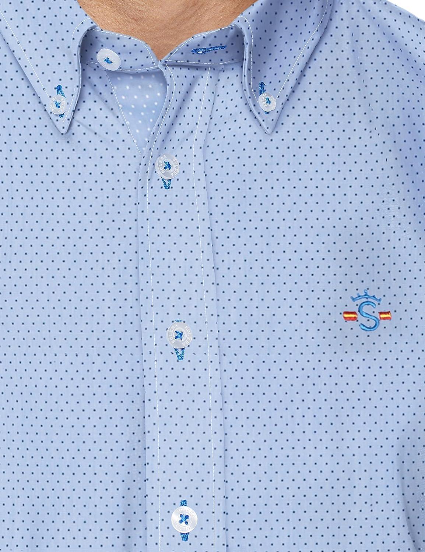 Solera Camisa Casual para Hombre: Amazon.es: Ropa y accesorios