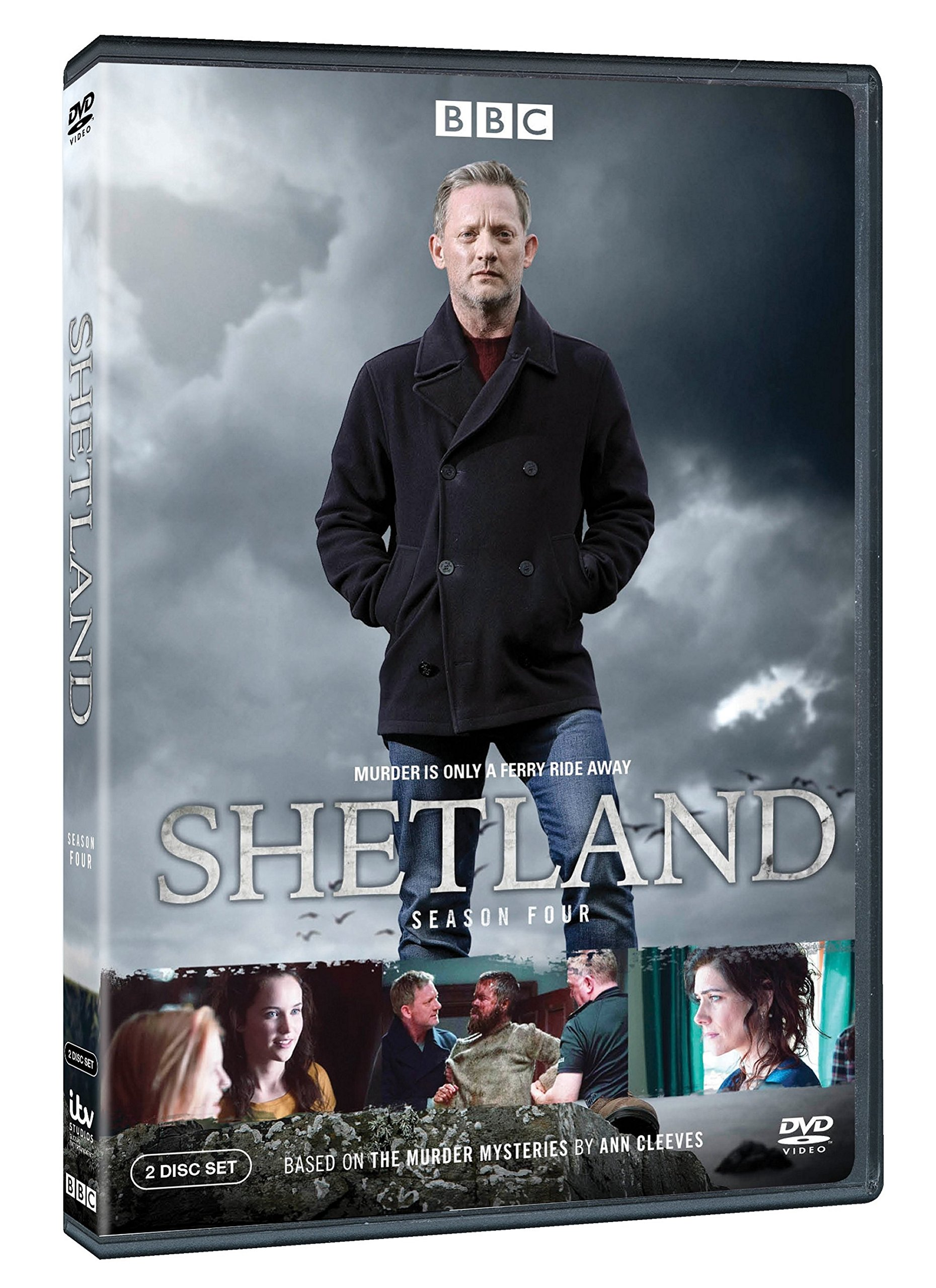 DVD : Shetland: Season Four (Eco Amaray Case, 2 Pack, 2PC)