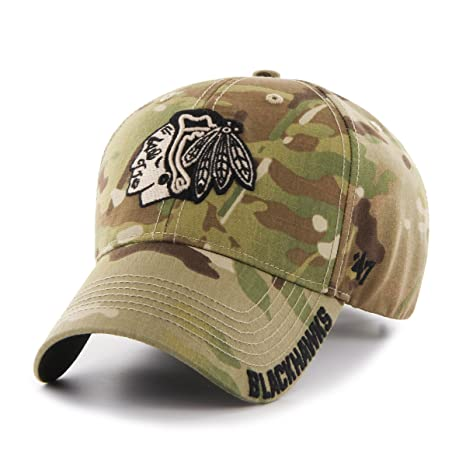 brand new f0f1b 7dc3c ... low cost nhl chicago blackhawks myers mvp adjustable hat one size  multicam camouflage 8b5e4 9611d