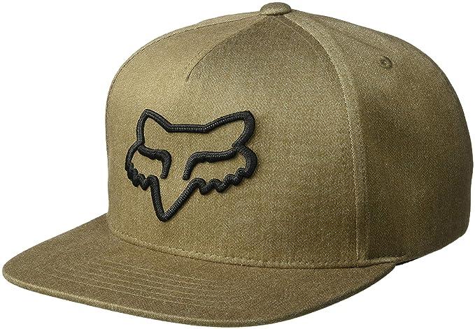 buy popular 3f141 f15b0 Fox Men s INSTILL Snapback HAT, bark, ...