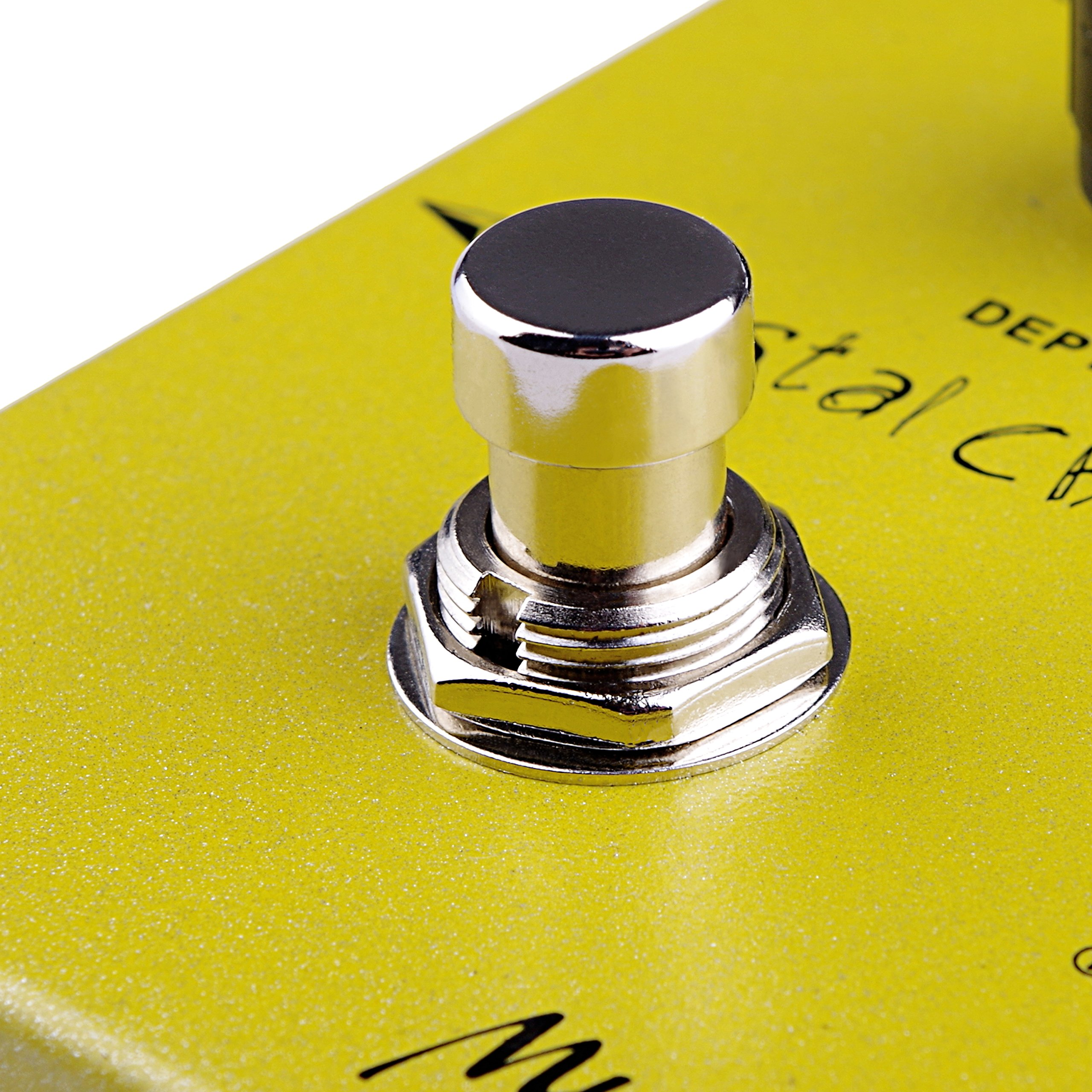 Chorus Effect Guitar Pedal Mugig,Classic Chorus with True Bypass Three different knob: Volume, Speed, Depth