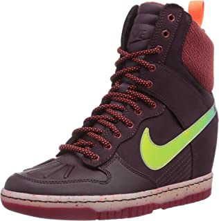 919c38d14581 nike dunk sky hi essential high top wedge sneakers