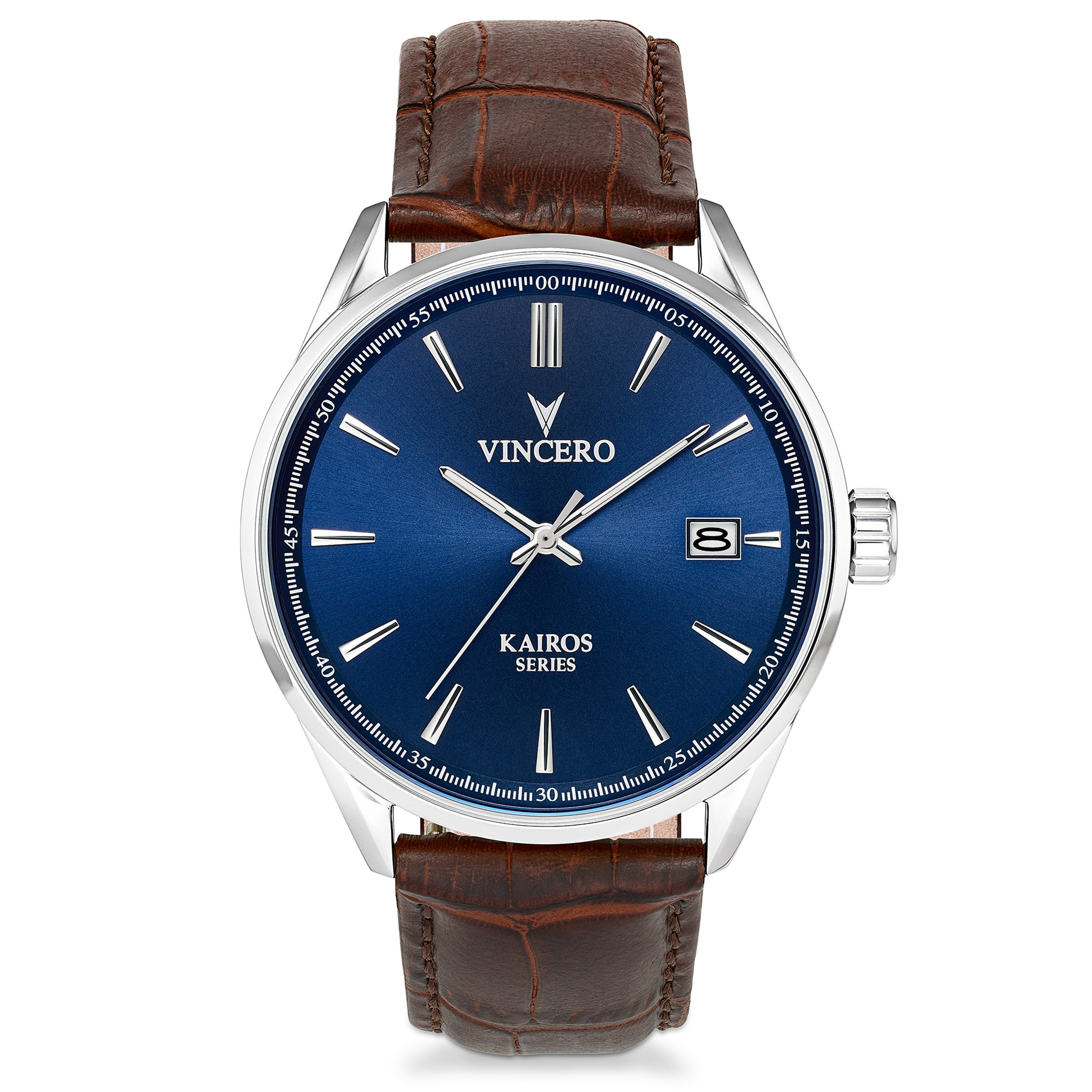 silver men quartz buy for round online watch adamo clothing shopping blue manly watches dial analogue electronics site mens fashion stainless steel mobiles