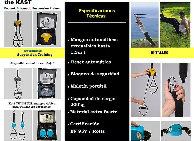 KAST YELLOW KoolooK Automatic Suspension Exercises , Las ...