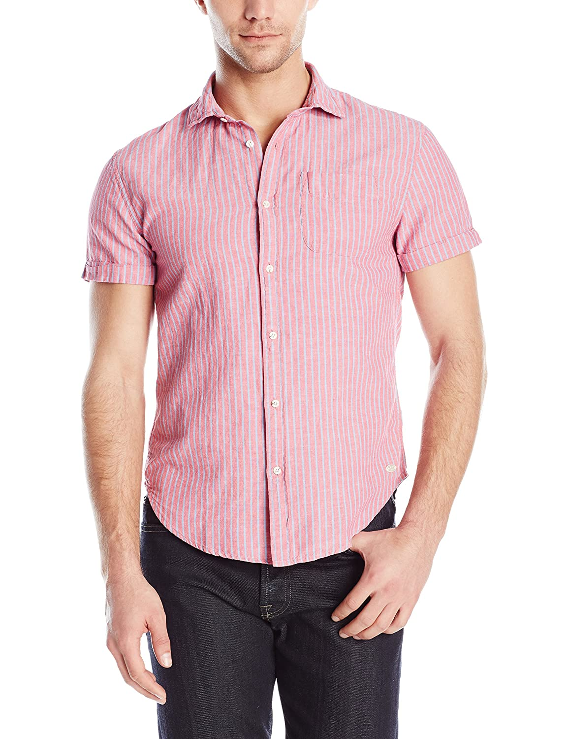 Scotch & Soda Men's Relaxed Short-Sleeve Shirt