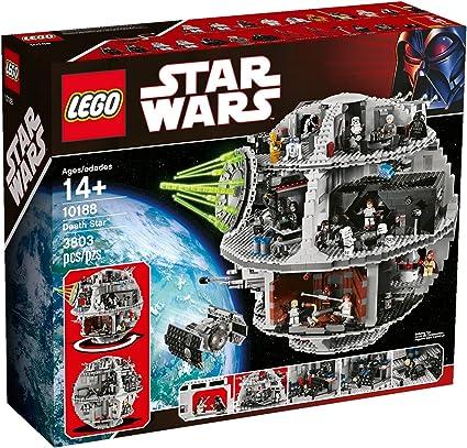 LEGO Star Wars Minifigures from Set 10188 Han Solo Luke C-3PO NEW