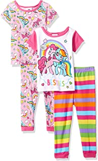 Amazon Com My Little Pony Girls My Little Pony Pajamas Clothing