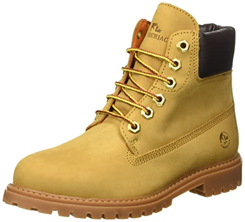 Lumberjack River, Scarpe a Collo Alto Donna, Giallo (M0001 Yellow/Dk Brown