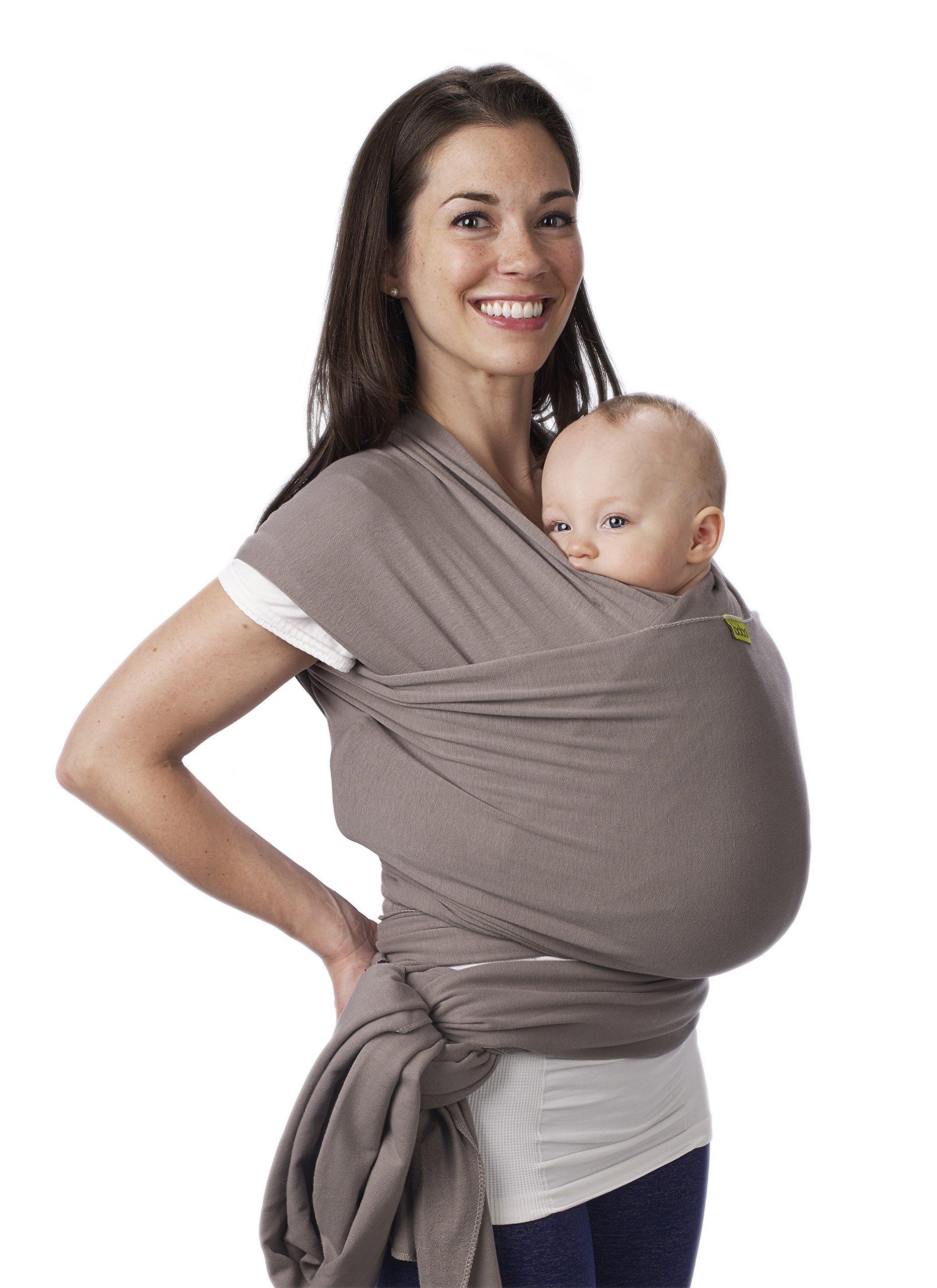 Boba Wrap, Grey, 0-36 Months