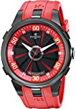 Perrelet Men A1051/6 Turbine XL Red Rubber Strap Automatic Watch