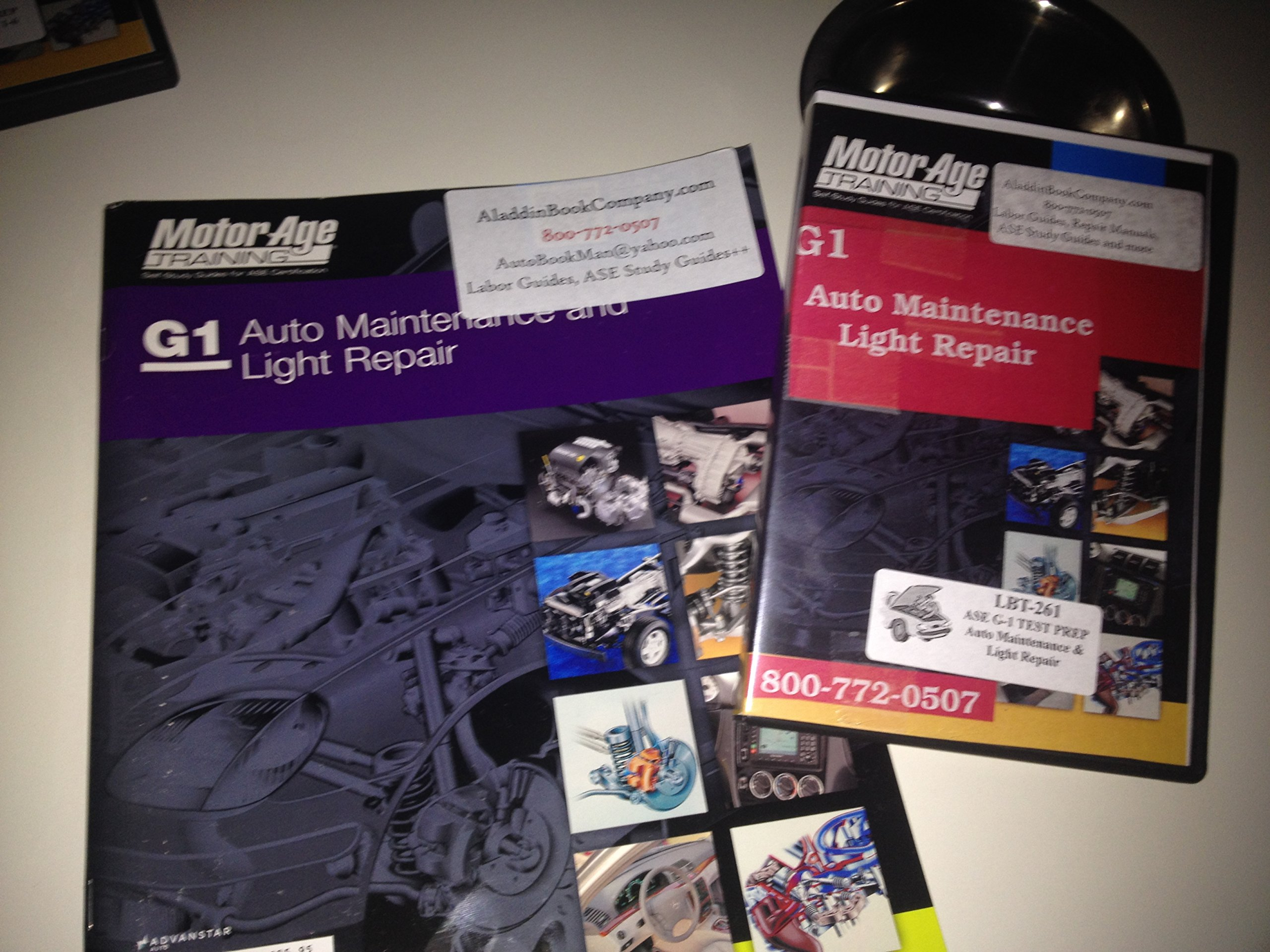 G1 ASE Auto Maintenance and Light Repair DVD Training Package & Book pdf