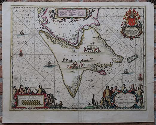 """1640 Map of Amsterdam Canvas Print Poster 36/"""" X 24/"""""""
