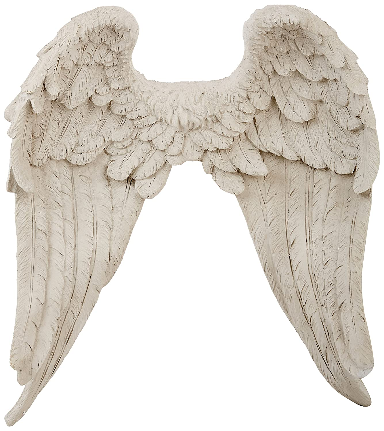 Angel wings sculpture wall mounted ornament art decor for Angel wings wall decoration uk