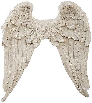design toscano eu20780 heavenly guardian angel wings wall sculpture