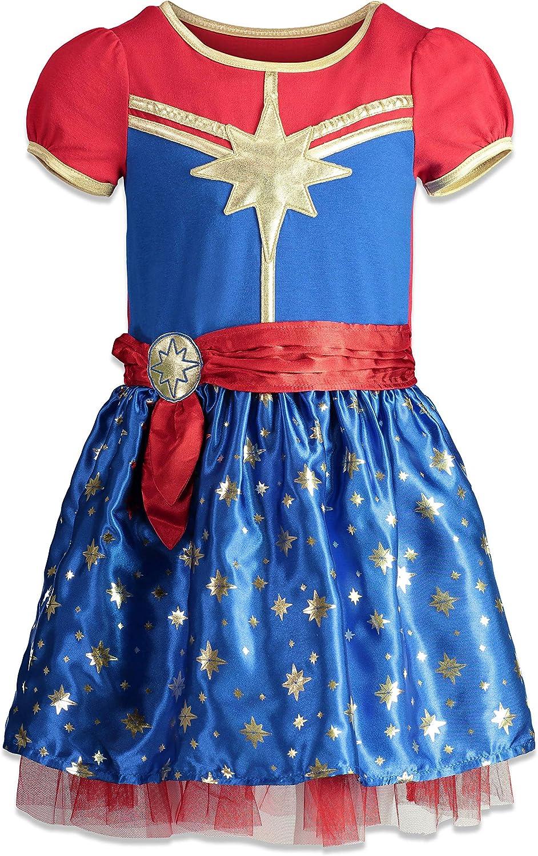 Amazon Com Marvel Captain Girls Short Sleeve Costume Dress Headband Superhero Cosplay Clothing Endgame is a nod to comics history. marvel captain girls short sleeve costume dress headband superhero cosplay