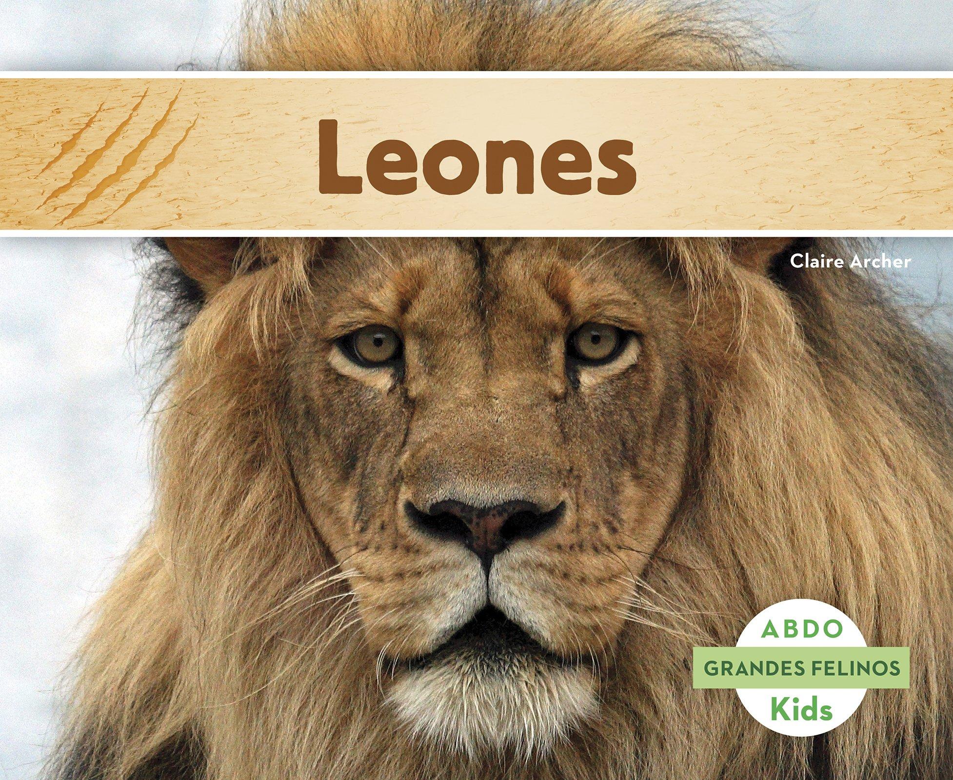 Download Leones (Abdo Kids: Grandes Felinos) (Spanish Edition) ebook