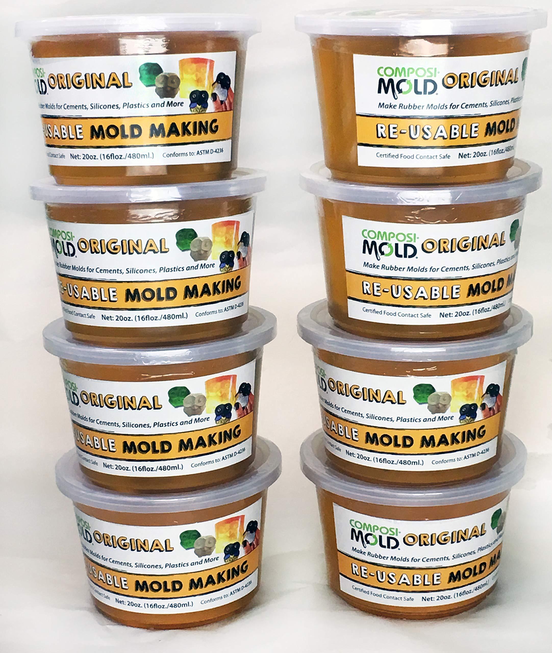 ComposiMold Re-usable MoldMaking Material (Original) 10 lbs. (8x20oz)