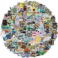 GEMNICHI 200 PCS Colorful Waterproof Stickers Deals