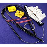 Audi A4 B6 B7 Electric Window Regulator Repair Kit (01-08) - Front Right Driver Window (Cables, Winder, Fastenings) - FREE FIRST CLASS UK POSTAGE!