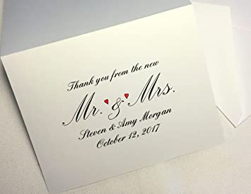 Bride Stationery Bride Thank You Note