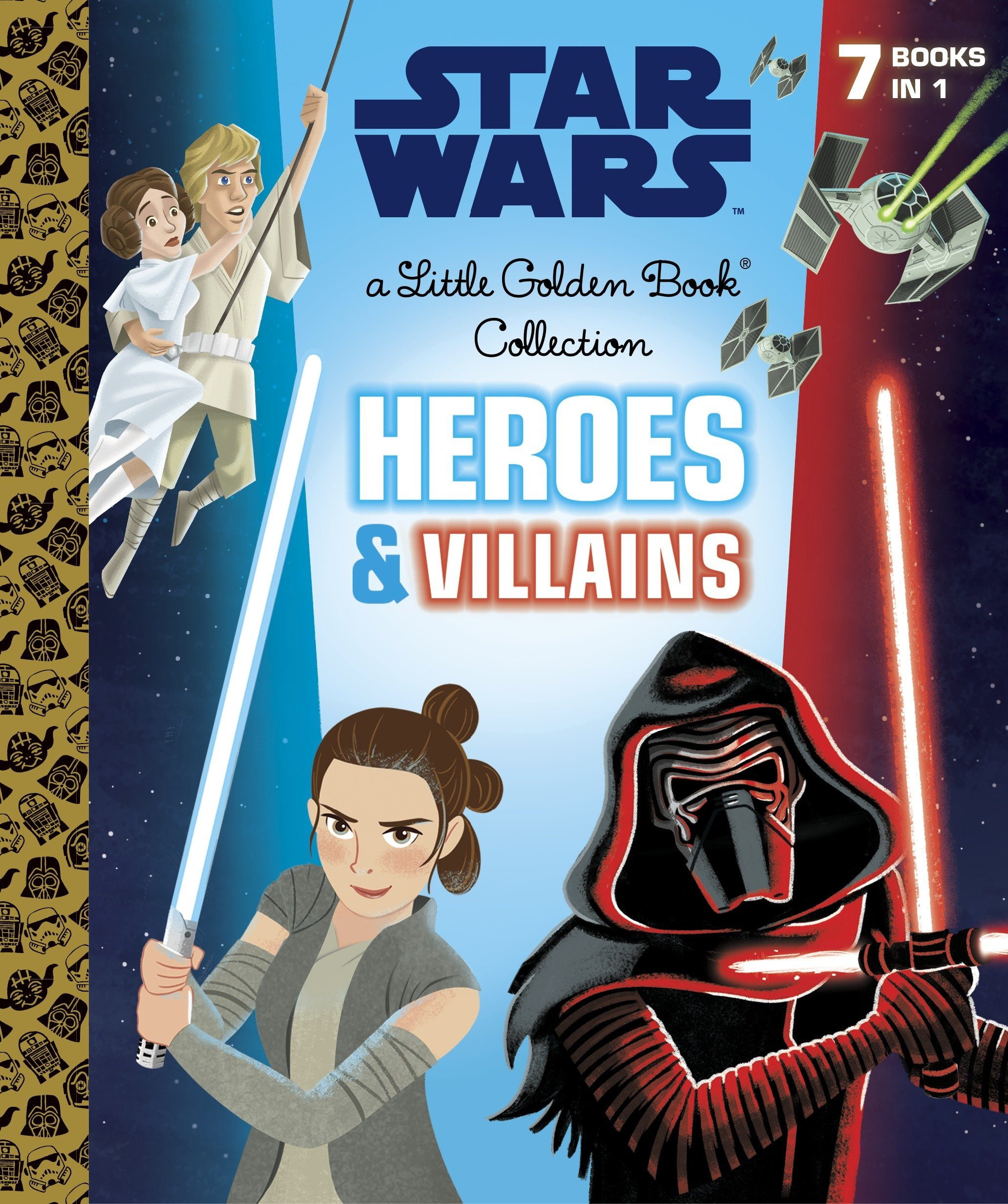 Heroes and Villains Little Golden Book Collection (Star Wars): Golden Books:  9780736436984: Amazon.com: Books
