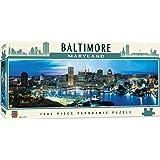 MasterPieces American Vistas Panoramic Baltimore Jigsaw Puzzle, 1000-Piece