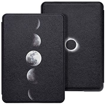 WALNEW Case Fits Kindle Paperwhite 10th Generation 2018 Protective Slim PU  Leather Case Smart Auto Wake/Sleep Cover Compatible Kindle Paperwhite 10th