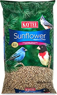 product image for Kaytee Sunflower Hearts and Chips Bird Seed, 8-Pound