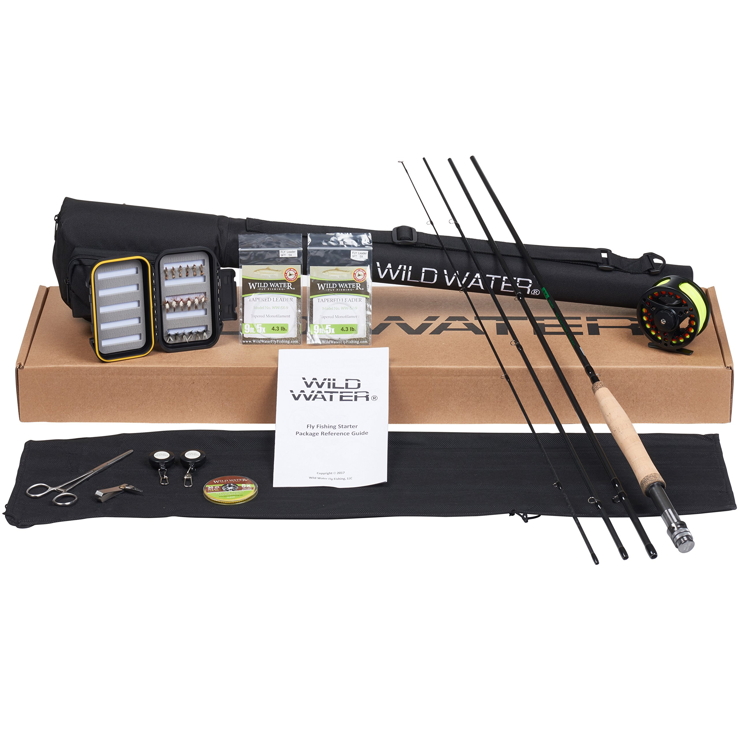DELUXE Wild Water AX56-090-4 Complete Starter Package by Wild Water