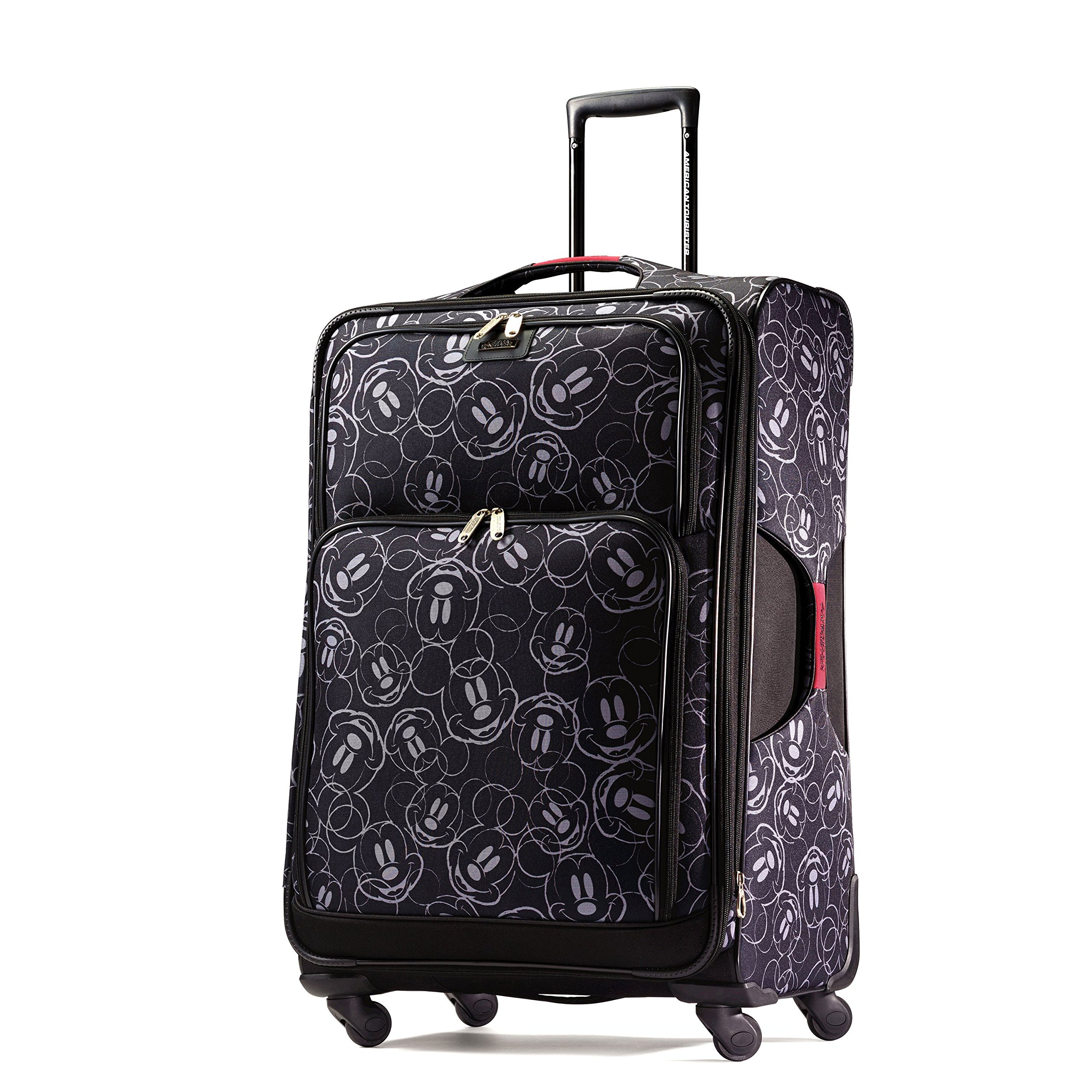 American Tourister Disney Mickey Mouse Multi-Face Softside Spinner 28, Multi