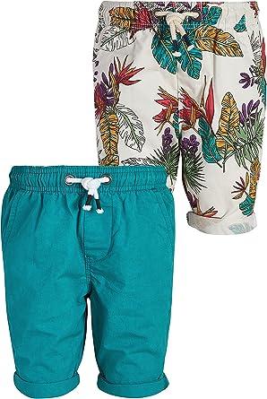 next Niños Pack De Dos Pantalones Cortos Hawaianos (3-16 Años) Azul/Neutral 16 años: Amazon.es: Ropa y accesorios