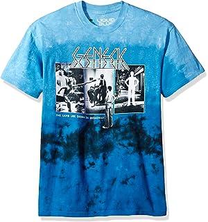 Liquid Blue Genesis The Lamb Lies Down Tie Dye Short Sleeve T-Shirt 83a8ad993