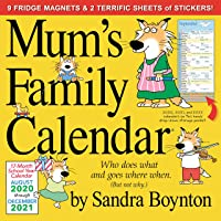2021 Mum's Family Wall Calendar (UK Edition)