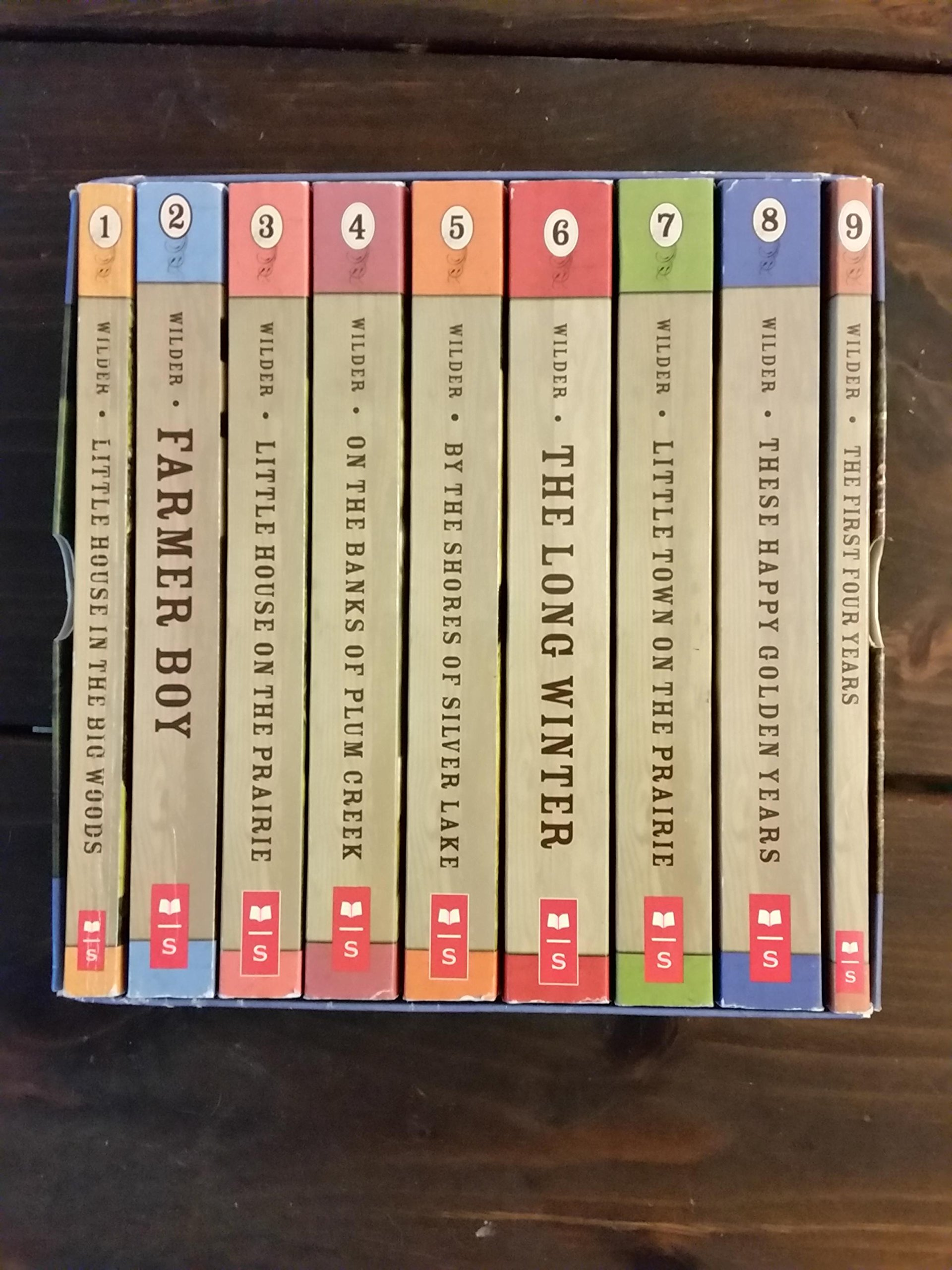 Little House Big Adventure: The First Nine Books that Started it All, Laura Ingalls Wilder