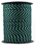 Our School Spirit 50' hank 100 ft hanks & 1000 ft spools of paracord 550 Type III Parachute Cord 7 Strand
