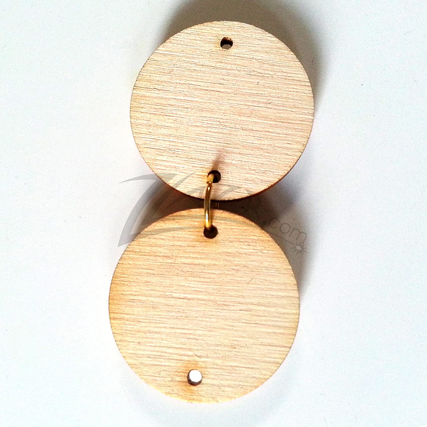 1 Inch X 18 Wood Circle With 2 Hole Family Birthday Date Board Disc Tags Fast Shipping Form Usa 100