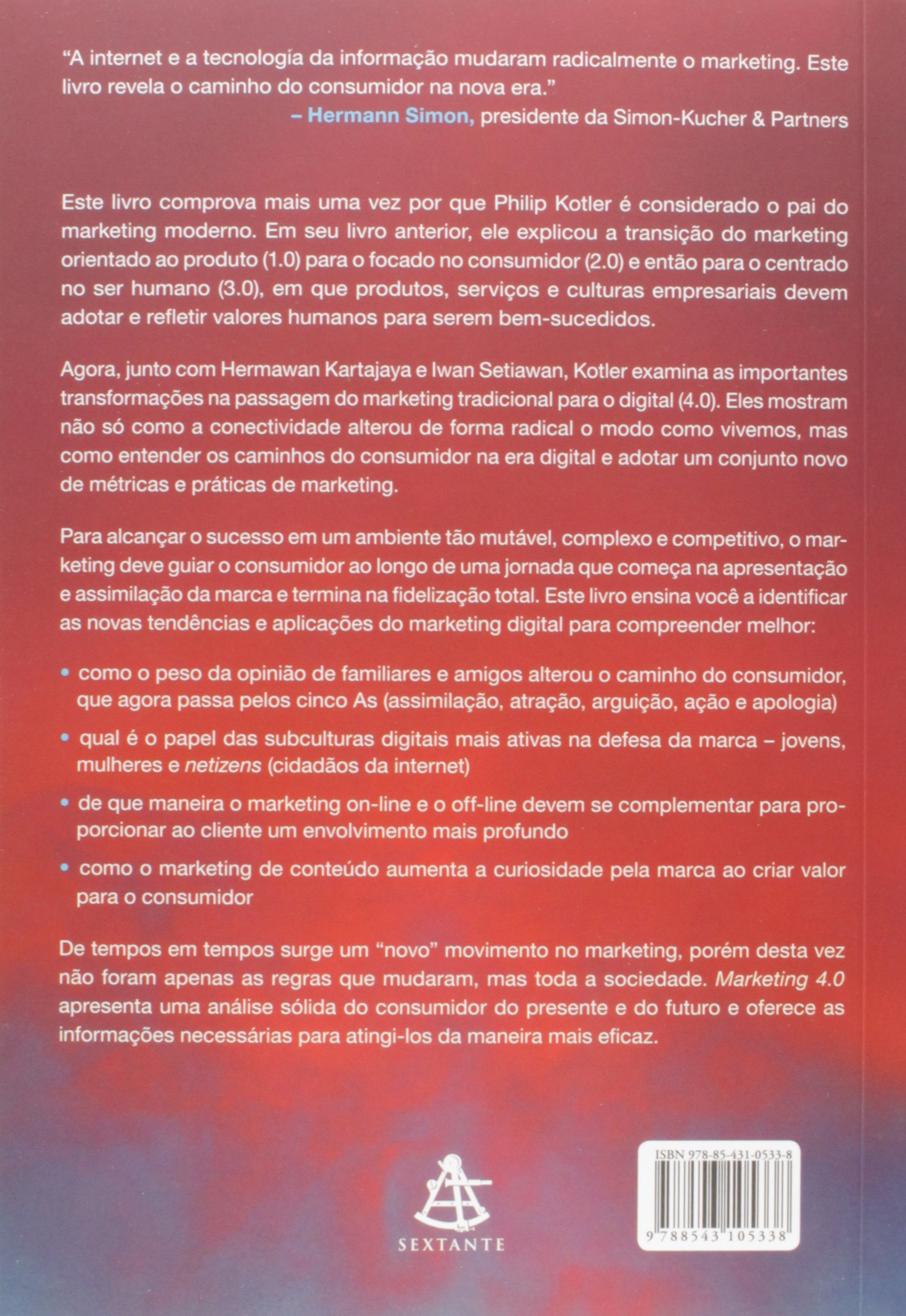 Marketing 4.0. Do Tradicional ao Digital: Philip Kotler: 9788543105338: Amazon.com: Books