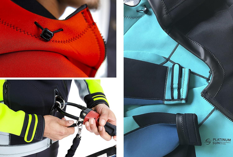 Platinum Sun Unisex Neoprene Jacket Hoodie Multi-Color