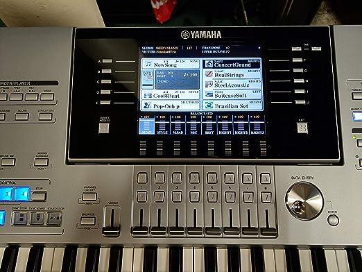 Yamaha Tyros 5 76 Note Teclado Arreglo estación de trabajo ...