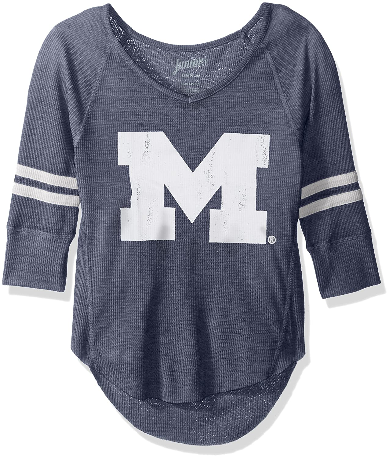 NCAA Oregon Ducks Juniors Outerstuff Relaxed 3//4 Raglan Thermal Top Team Color 3-5 Small