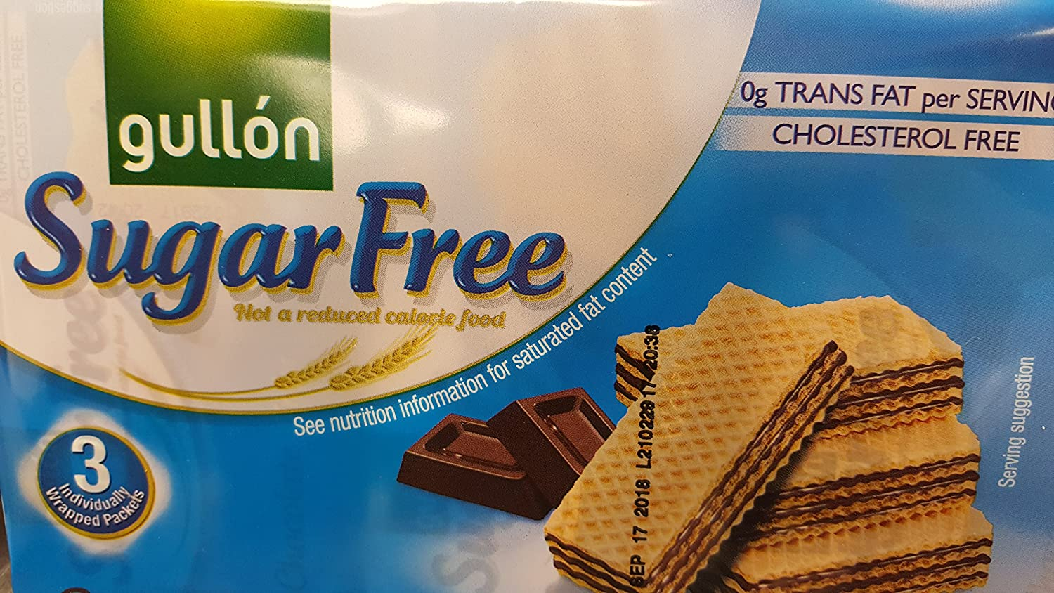 Sugar Free Chocolate Wafer