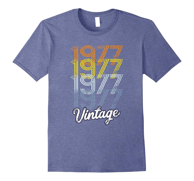 Vintage 1977 Tshirt - Retro 70s Tshirt-BN