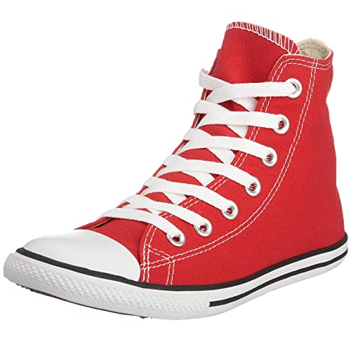 e900e0ef150c Converse Chuck Taylor Unisex Slim Hi Top Red (Men s 6.0 Women s 8.0)   Amazon.ca  Shoes   Handbags
