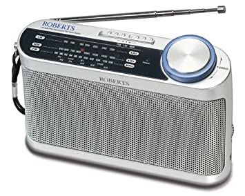 Roberts Radio R9993 Portable LW/MW/FM Radio with Headphone Socket