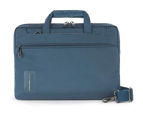 Tucano-Bolsa para Ordenador ,Hombre y Mujer con Bolsillo Para Ordenador Portátil de 11.6 Pulgadas, iPad y Tableta Universal. Bolsa de Oficina y ...